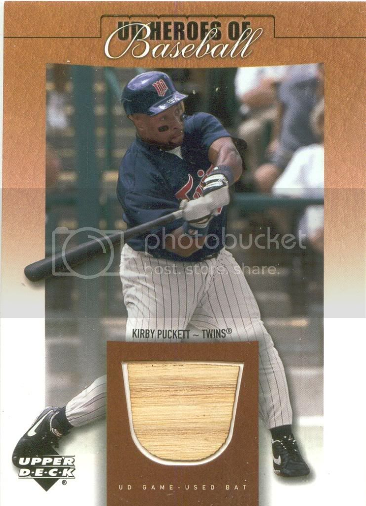 Kirby Puckett Gu Bat Image