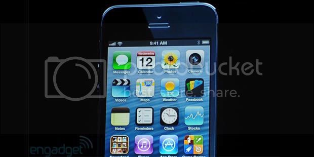 0047135620X310 iPhone 5 with 4 inch screen finally officially launched