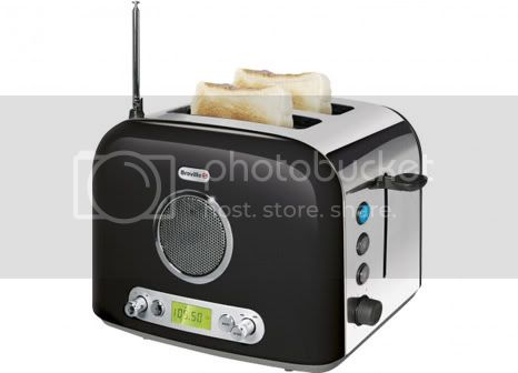 Breville Radio Toaster: toaster and radio in a product device