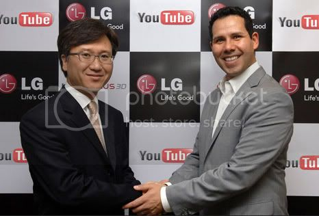 LG and YouTube will present a 3D movie on your phone or tablet