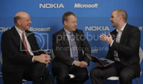 Nokia and Microsoft annouce patnership