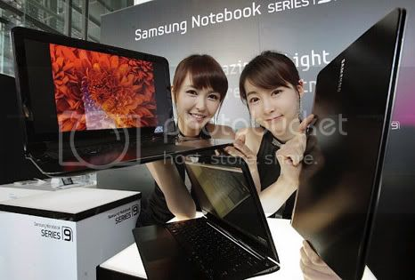 Samsung Sens Series 9: Notebook slim and sexy release in korea