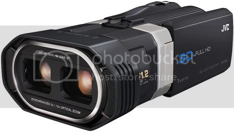 JVC GS-TD1 Camcorder: first that produce 3D in Full HD