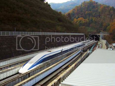 China is developing the Maglev train with a speed of 1000 km per hour
