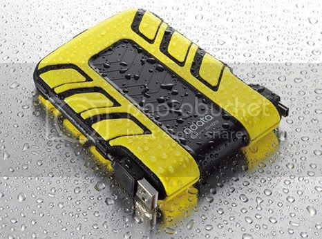 adata sh93 A DATA SH93: external hard drive waterproof and anti collision