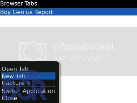 bb os5 browser tab 2 BlackBerry OS 5.0 has a feature Tab Browsing