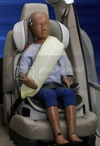 ford inflatable seat Ford Inflatable Seat Belt: the seat belt with air bags for the car