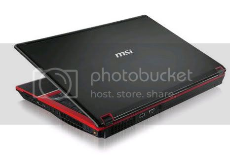 msi gx 740 3 MSI GX740 Notebook with Intel Core i7 processor and ATI Radeon HD 5870