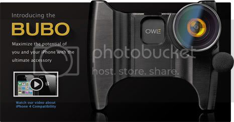 owle bubo 1 OWLE Bubo: actually become reality to make the iPhone into a camcorder