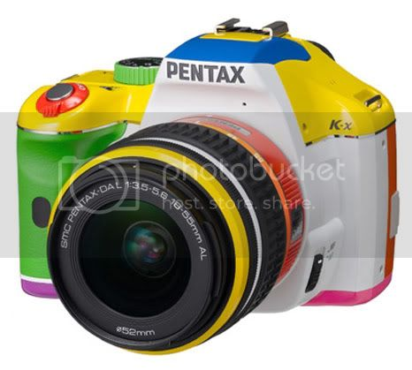 Pentax K-x RAINBOW: One again colorfull DSLR from Pentax