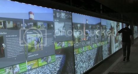 ring wall sensory minds RingWall: the largest screen with touch technology in the world at this time