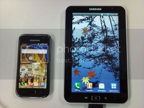 Samsung Tablet: in theory faster than iPad and Super AMOLED